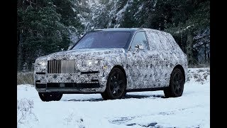 Rolls-Royce confirms Cullinan name for SUV