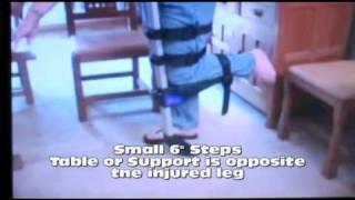 I WALK FREE Hands Free Crutch Instructional Video