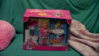 Caydee Reviews Mattel Potty Training Kelly Barbie's Baby Sister Peeing Doll Unboxing Toy Review