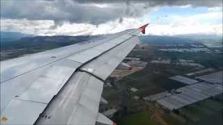 Avianca Airbus A319 N557AV Landing Bogota ElDorado