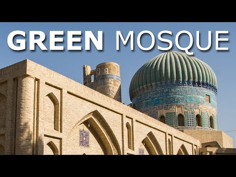 Green Mosque, Balkh Afghanistan