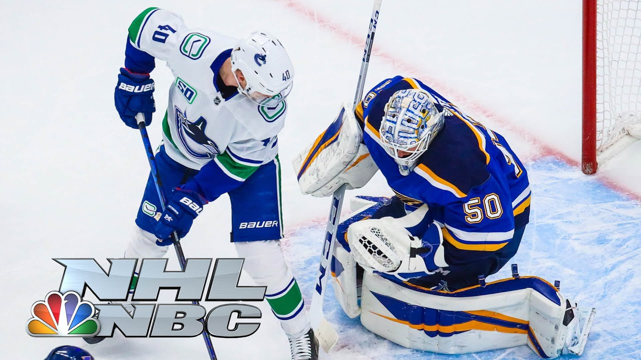 NHL Stanley Cup First Round: Canucks vs. Blues | Game 1 EXTENDED HIGHLIGHTS | NBC Sports