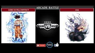 GOKU ULTRA INSTINCT  vs  ONI (REQUEST #14)