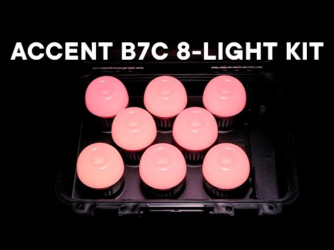 Introducing the Accent B7c 8-Light Kit