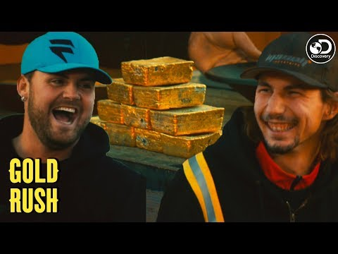 Parker Breaks The All-Time Gold Rush Record | Gold Rush