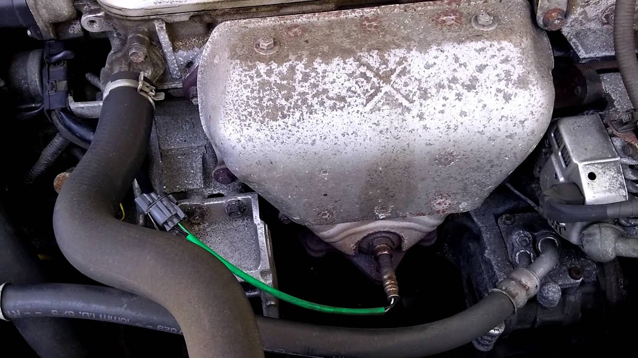Honda Accord 2002 O2 Sensor Change Youtube