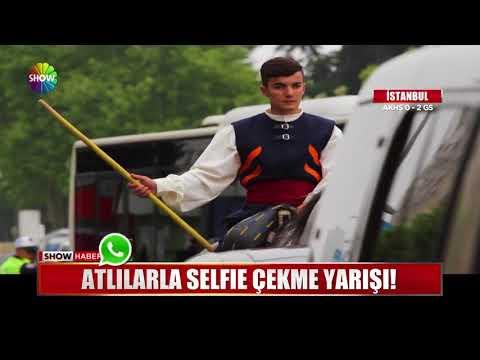 Atlılarla Selfie çekme Yarışı!