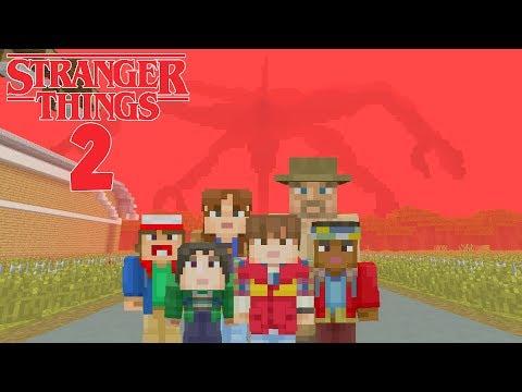 Minecraft XBOX - Hide and Seek - Stranger Things Season 2