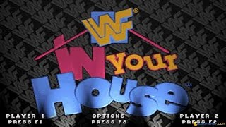 WWF In Your House gameplay (PC Game, 1996)