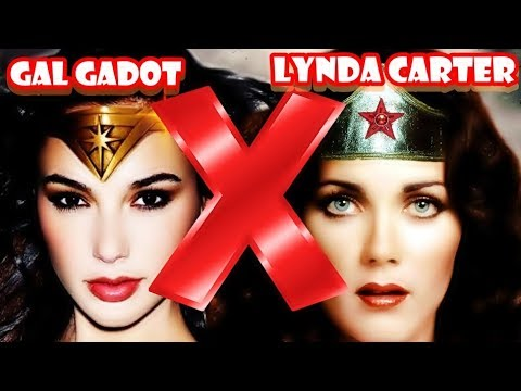 Duelo da Beleza: GAL GADOT x LYNDA CARTER ⭐ MULHER MARAVILHA mais Linda?
