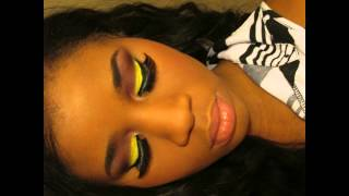 Yellow and Red fall makeup idea ft Coastal Scents revealed 2 palette and ebay 30 palette Thumbnail