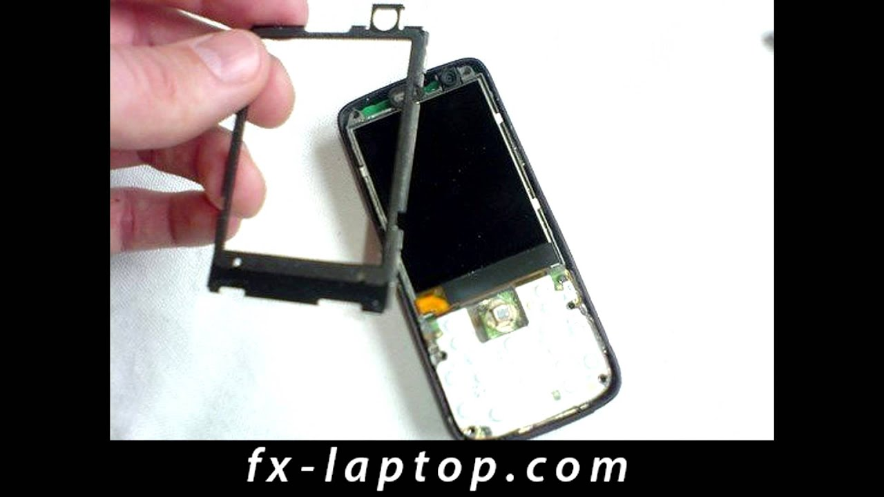Disassembly Nokia N73 - Battery Glass Screen Replacement