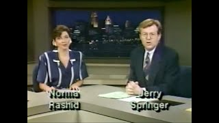 Jerry Springer 80s 90s WLWT News 5 Commentary videos, liberal final thoughts