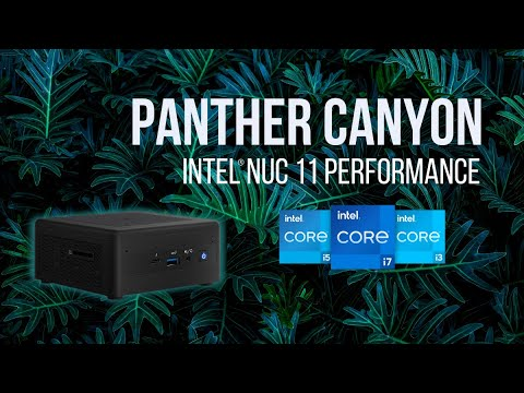 Intel NUC 11 Performance - Panther Canyon - Unboxing - YouTube