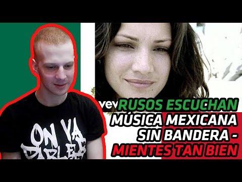 RUSSIANS REACT TO MEXICAN MUSIC   Sin Bandera - Mientes Tan Bien   REACTION