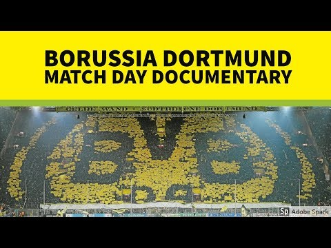 Borussia Dortmund Stadium Match (Game) Day Documentary (In E