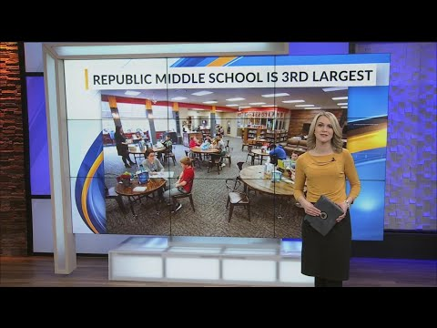 At 1,200 kids, Republic Middle School is bursting at the seams - but has no plans to split