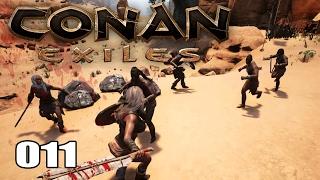 CONAN EXILES [012] [Blutiger Kampf - Vier gegen einen] [Multiplayer] [Deutsch German] thumbnail