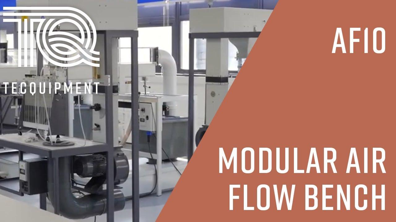 Modular Air Flow Bench AF10   Aerodynamics   TecQuipment