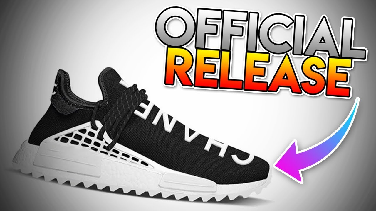 separation shoes 0ee0e b4094 *OFFICIAL* RELEASE OF THE ADIDAS HUMAN RACE X PHARRELL X CHANEL!!! (  RELEASE INFO AND DATE!!! )