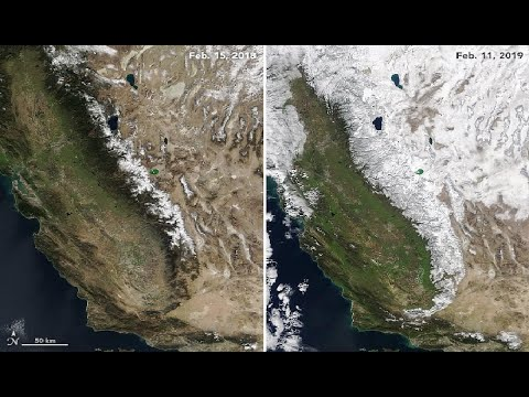 Record Snow Continues In South West Desert - Sierra's Epic Snowpack - Space Weather Seismic WARNING