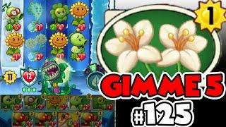 Plants vs Zombies Heroes Epic Walkthrough 125 - Flourish   Gimme Five 5 CARDS