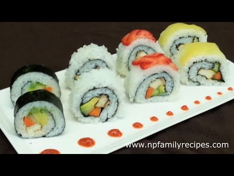 How To Make Simple Vegan Sushi Recipe