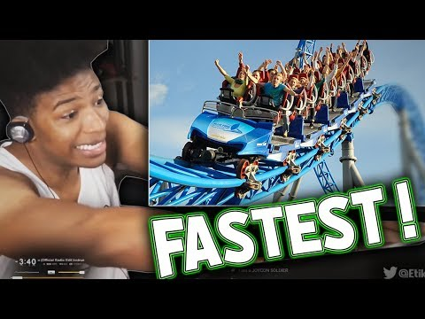 ETIKA REACTS TO THE FASTEST ROLLER COASTERS IN THE WORLD