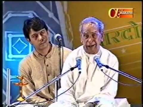 Bharat Ratna Bhimsen Joshi at his Best - Indrayani Kathi and Tirth Vitthal 1
