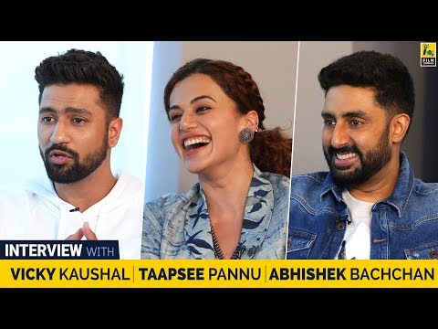 Interview With Abhishek Bachchan, Taapsee Pannu & Vicky Kaushal | Manmarziyaan | Anupama Chopra |  Mp3 Download