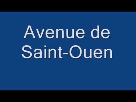 Avenue de Saint Ouen PArrondissement  17e et 18earis