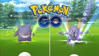 INCREÍBLE RAID DAY DE GENGAR! FESTIVAL SHINY Y PINSIR SORPRESA! [Pokémon GO-davidpetit]