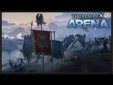 Epic 10 vs 10 Strategic Gameplay - Arena Total War