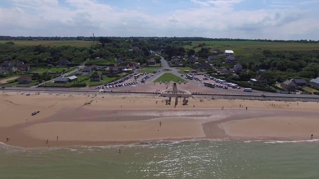 France Normandy Omaha Beach Drone Phantom