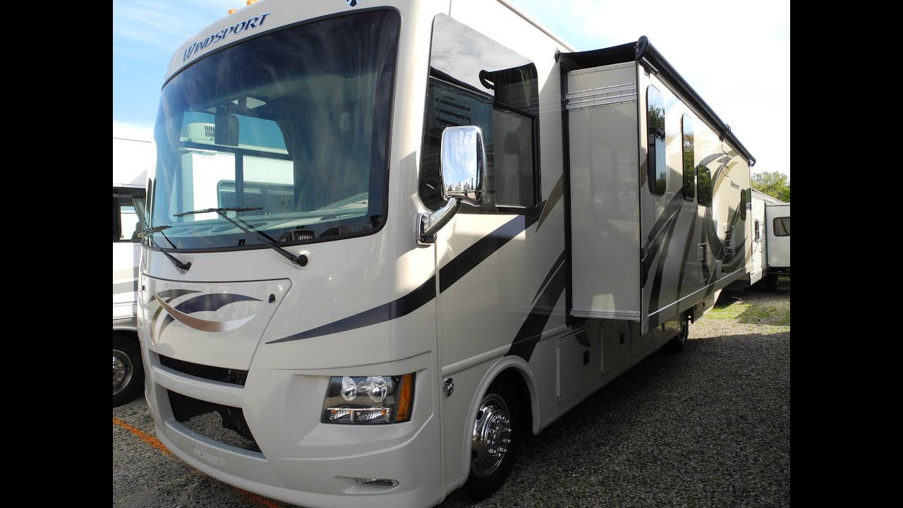 Sold 2015 Thor Windsport 32n Class A Motorhome Luxury
