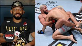 Deiveson Figueiredo On Alex Perez Win, Fighting Brandon Moreno Next | UFC 255 Post Show | ESPN MMA