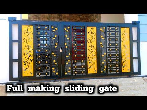 amazing-metal-sliding-gate-|-hanging-sliding-gate