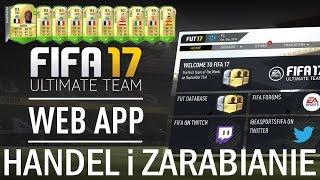 FIFA 17 web app, zaczynamy HANDEL i ZARABIANIE!