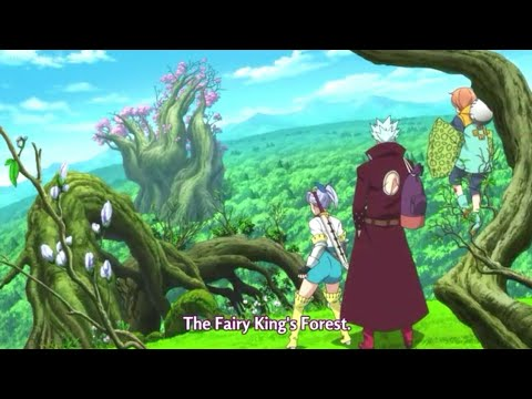 Seven Deadly Sins S2 Moments - Ban, King, And Jericho Goes to THE FAIRY KING'S FOREST