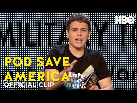 \'It's Wages, Not Cages\'   Ok, Stop   Pod Save America   HBO