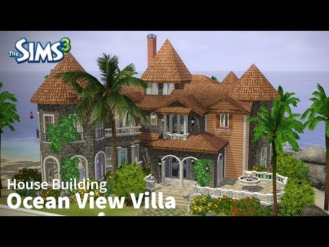 The Sims 3 House Building  - Ocean View Villa