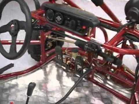 KANDI 250CC GO KART DUNE BUGGY SAND RAIL KIDS ADULT  YouTube