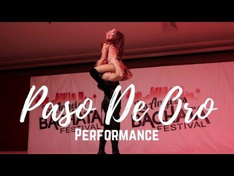 Skin - Rihanna Sexy Urban Bachata Paso De Oro LABF Los Angeles Bachata Festival Performance 2018
