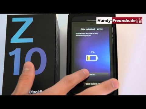 Blackberry OS 10 - Soft & Hardreset - handy-freunde.de