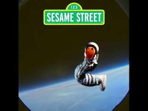 NASA Astronaut Returns Sesame Street Mementos Flown on Orion Spacecraft (Slimey the Worm)