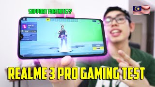 Can play Fortnite?? A solid Gaming kat Phone Nih?? /Gaming Test Realme 3 Pro (Malaysia)