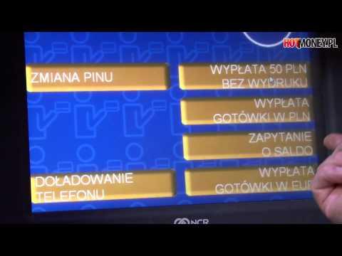 Ten Bankomat Wypłaca Euro. W Polsce!