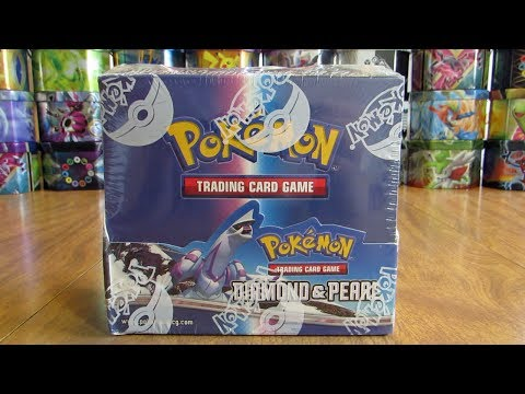 Diamond & Pearl Booster Box Opening Pt. 1
