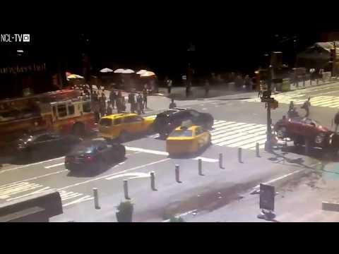 Times square car crash