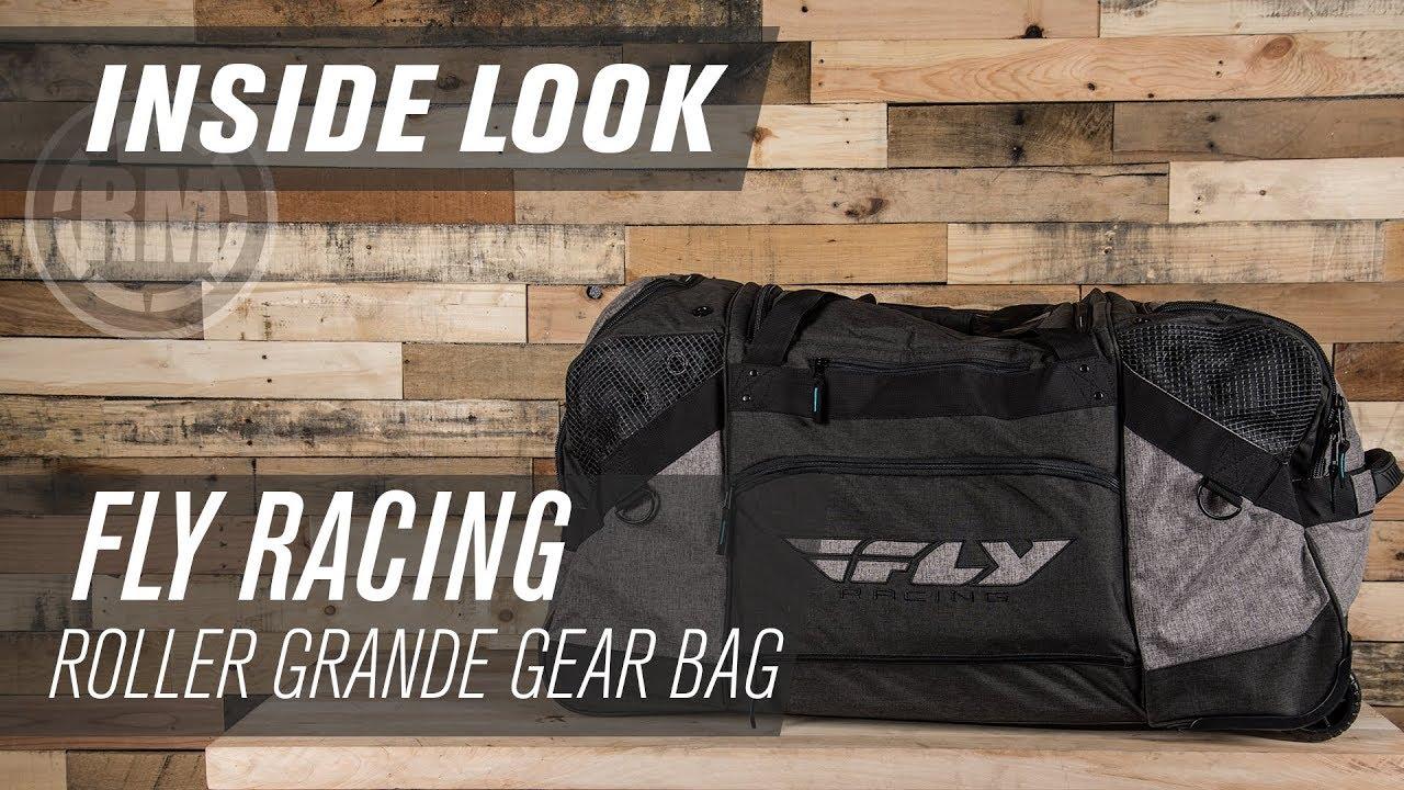 Fly Racing Roller Grande Motocross Gear Bag Inside Look